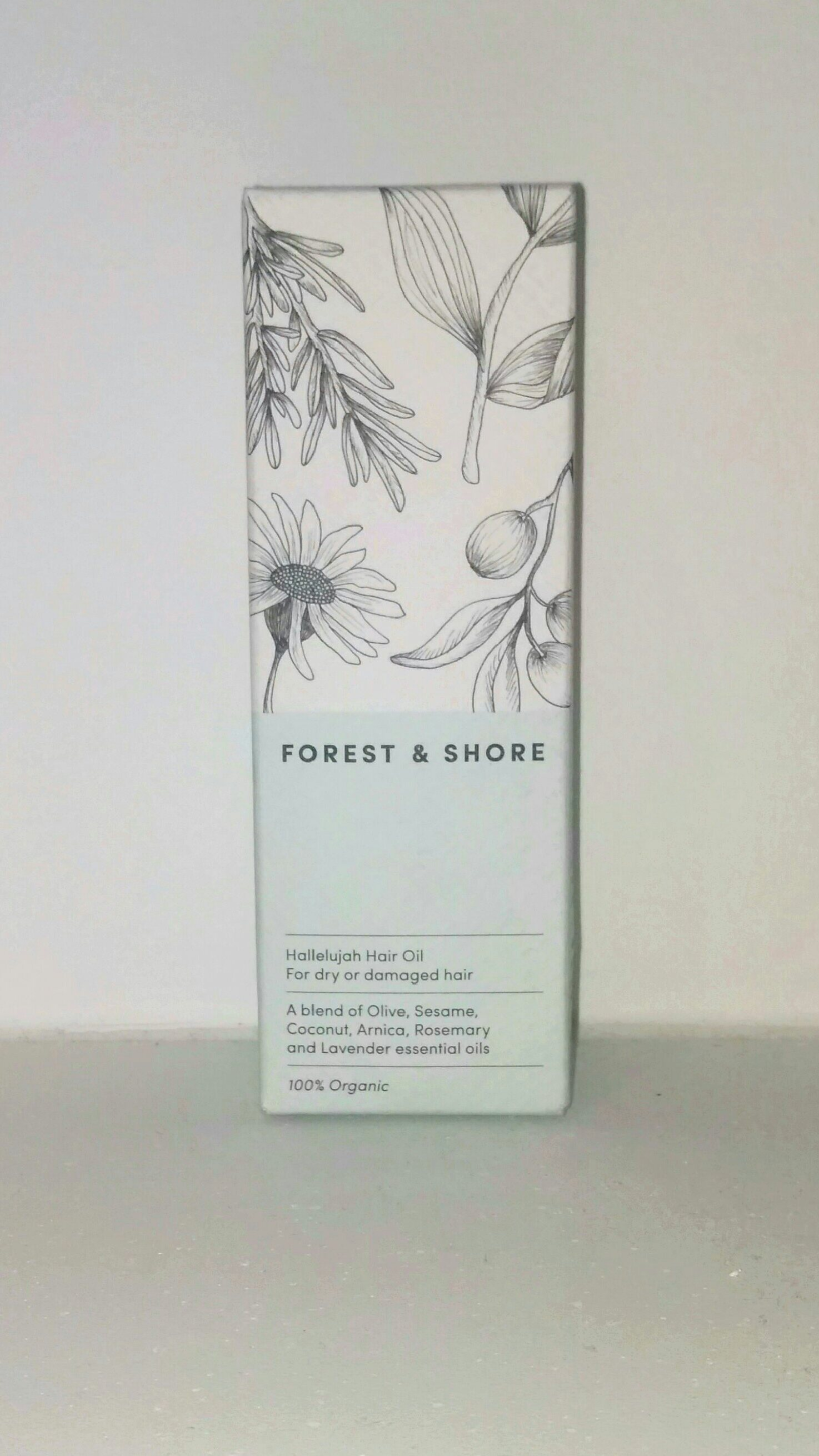 forest and shore hair oil review box